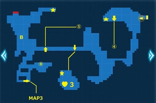 マランダ海岸MAP2