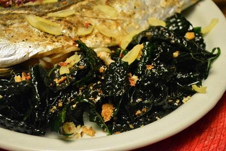 黒キャベツのオイルサラダ