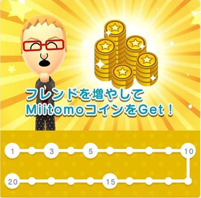 Miitomoコインの稼ぎ方