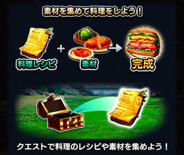 レシピの入手方法