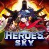 『ヒーローオブスカイ』レビュー!育成要素の強いシューティングゲーム